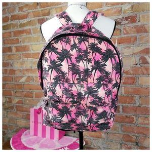 🌴Victorias Secret PINK Palm Tree Backpack